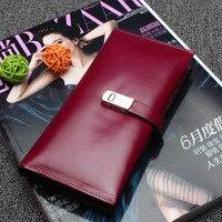 CHISPAULO 2017 Genuine Leather Brand Design Women Wallets Ladies Clutch Hand Bag Famous Brands Lady Purse