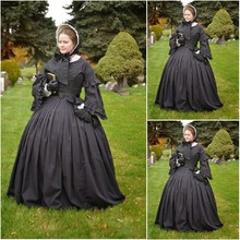 SC 196 Victorian Gothic lVitage font b Dress b font Halloween Theater Movie font b dresses