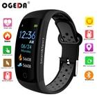 ✔  OGEDA Фитнес Роскошные Умные Часы IP68 Водонепроницаемый Спорт Android / IOS монитор сердечного ритм ✔