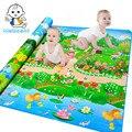 Autorizado Autêntico Maboshi Qualidade Esteira Do Jogo Do Bebê Jardim Botânico + Floresta Parque Crianças Brincam Tapete Bebê Crawling Mat CM0018