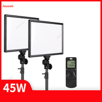 Photography studio P50 Double lamp bracket Set fill light LED portable external shooting wedding Indoor portrait CD50 T07