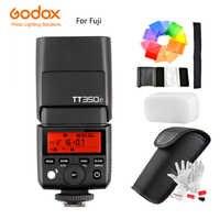 Godox TT350F Mini Flash Speedlite para Fujifilm X-T20 X-T3 TTL HSS GN36 1/8000 S 2,4G inalámbrico sistema /transmisor disparador X1T-F