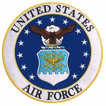 Custom Embroidery Patch  Military USAF United States US Air Force Seal Embroidered Welcome to custom your own patch