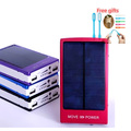 Envío led regalos 15000 mah solar banco de la energía 12000 mah móvil cargador de batería de reserva 10000 mah externa para el iphone para samsung