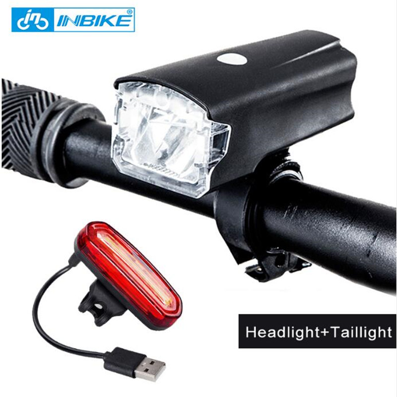 INBIKE Bicycle-Light Battery Bicicleta MTB Rechargeable USB 516