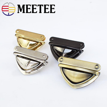 2/5pcs Meetee 3.5*5cm Metal Twist Turn Lock Snap Clasps Closure Buckle for Handbag Purse Bags Hardware Accessories Bag Locks 2017 fashion acrylic sheet for sample plastic sheet size 5cm 5cm 19 colors for making bags bag accessorise china factory