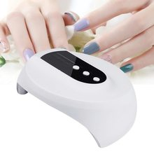 36w Smart Sensor UV Nail Lamp Drying Machine Gel Nail For 12 LEDs USB Cable Dryer Nail Dryer Quick Led Lamp Tools Intelligent(China)