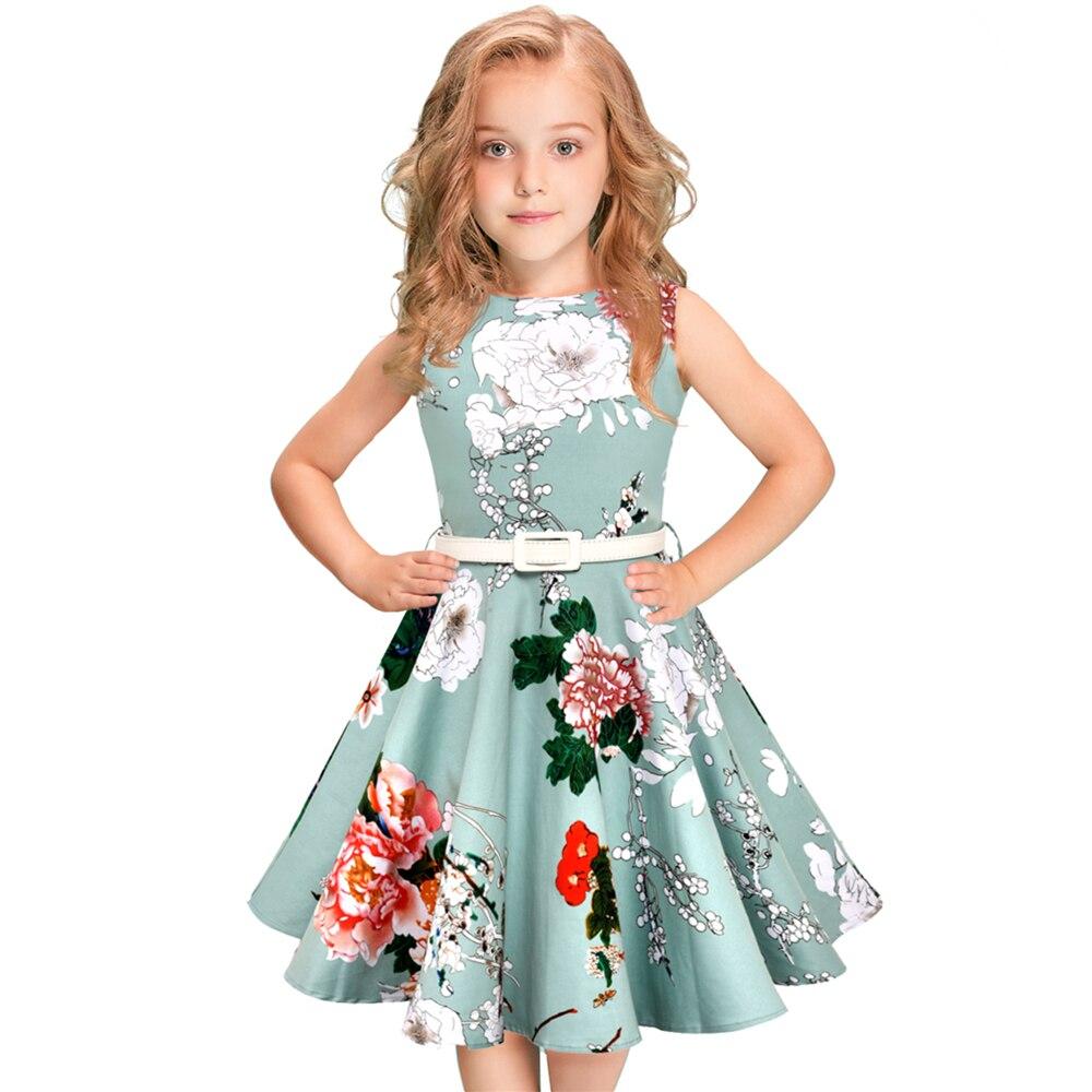 5 12Year Children Girls Summer Dress 50s 60s Vintage Retro ...