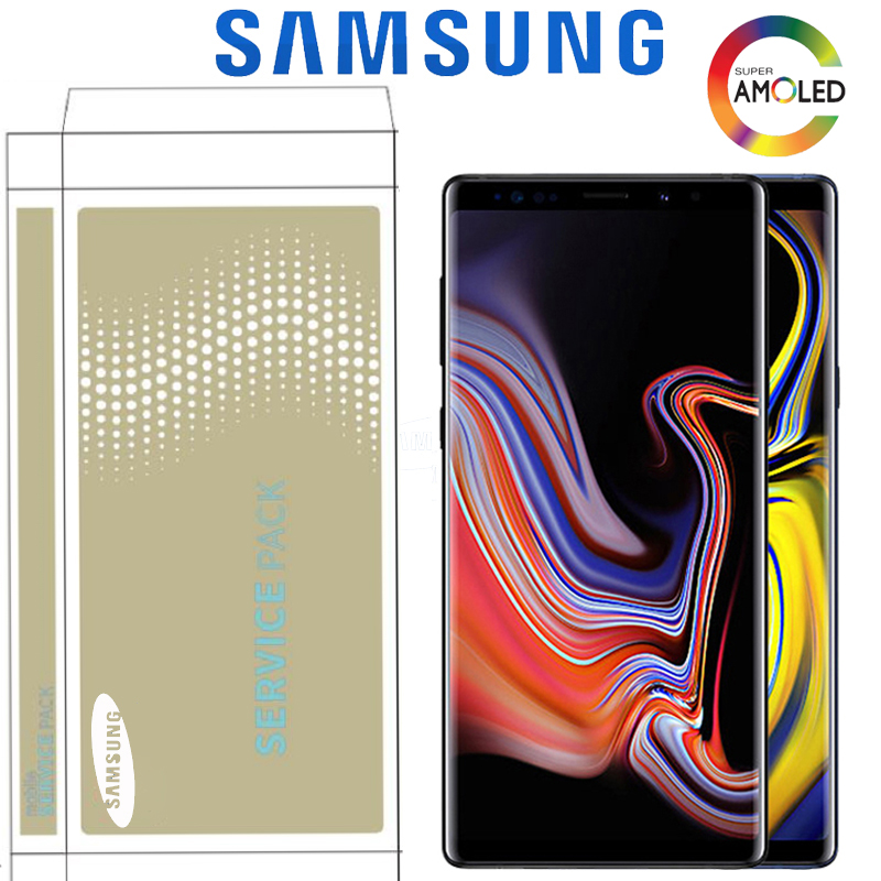 """6.4 """"LCD d'origine avec cadre pour SAMSUNG Galaxy Note 9 affichage N960F N960D N960DS avec écran tactile numériseur avec Service Pack-in Écrans LCD téléphone portable from Téléphones portables et télécommunications on AliExpress - 11.11_Double 11_Singles' Day 1"""