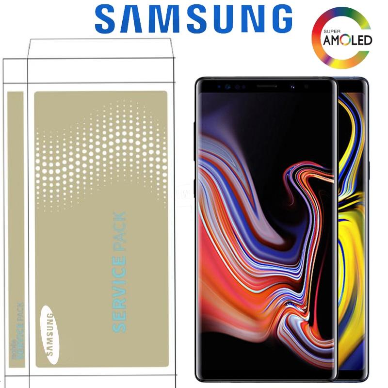 "6.4 ""Originele LCD Met Frame Voor SAMSUNG Galaxy Note 9 Display N960F N960D N960DS Met Touch Screen Digitizer Met service Pack-in LCD's voor mobiele telefoons van Mobiele telefoons & telecommunicatie op AliExpress - 11.11_Dubbel 11Vrijgezellendag 1"