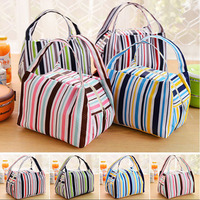Waterproof Baby Bag Cooler Bags Thermal Warmer Insulation Picnic Lunch Package Fresh Food Ice Stripes Infant