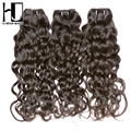 "New Arrival HJ Weave Beauty 7A Brazilian Virgin Hair Water Wave 3Pcs/lot 12""-28"" Wet And Wavy Bundles 100% Human Hair Extension"