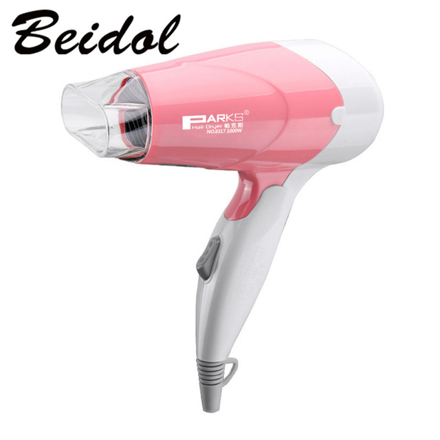 Hot Sales Mini Foldable Handle Design Portable Thermostatic Air collecting Traveller Compact Blower Electric Hair Dryer hot&cool