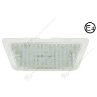2Pair Pure White 6000K Car LED License Plate Lamp No Error Code For Opel Astra G