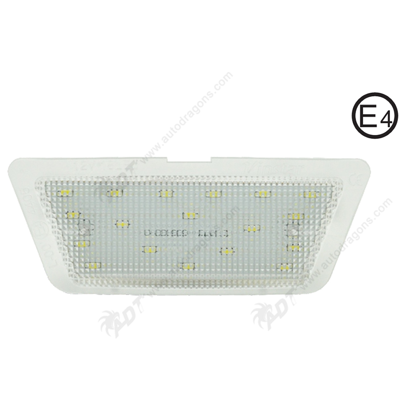 2Pair Pure White 6000K Car LED License Plate Lamp No Error Code for Opel Astra G (98-04) Hatch /Saloon ONLY Auot number Light