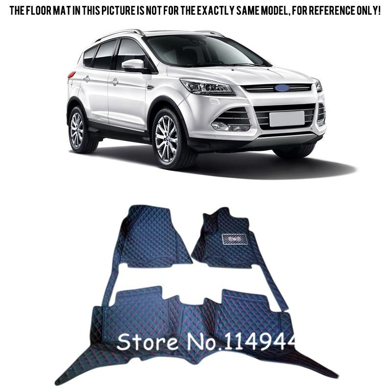For <font><b>Ford</b></font> <font><b>Escape</b></font> Kuga 2013 2014 2015 Durable Waterproof Auto Custom Car <font><b>Floor</b></font> Mats Full Set