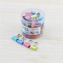 60pcs/set 15mm Colorful Metal Binder Clips Paper Clip Office