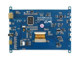 Image 5 - Waveshare 7 pollici HDMI LCD (H) monitor del Computer 1024*600 IPS Capacitivo Touch Screen Supporta Raspberry Pi Jetson Nano Win10 ecc