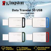 Kingston DT50 USB-Stick 8GB 16GB 32GB 64GB 128GB Daten Reisenden USB 3.1 3,0 Pendrive stick Geistige Stick Memory U Stick