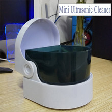 Mini Kreatif Perhiasan Cleaner Perhiasan Emas dan Perak Ultrasonic Cleaner Gigi Buatan Getaran Cleaner(China)