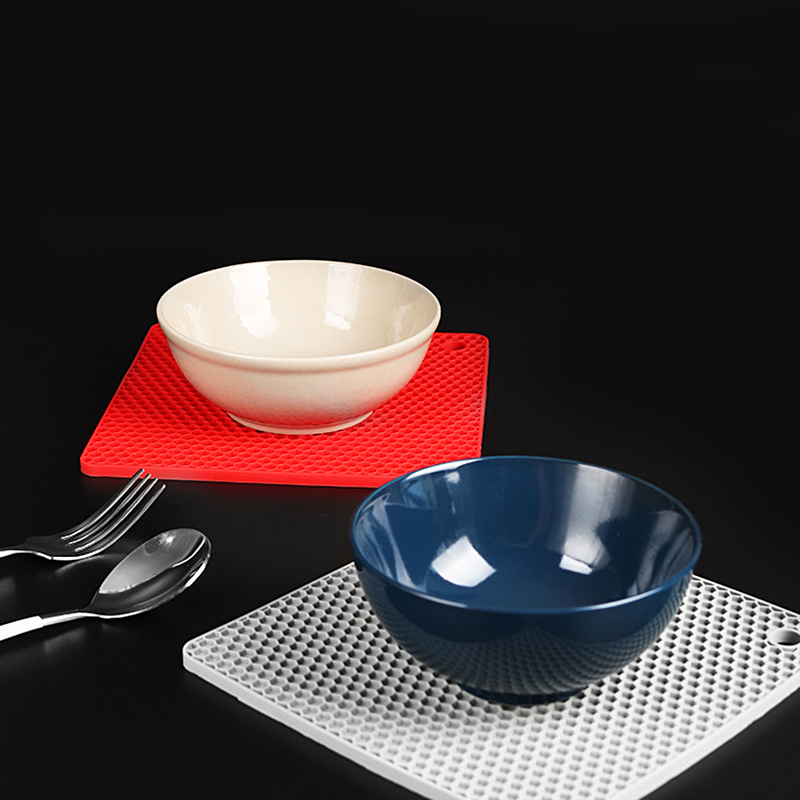 Universal Magic Silicone Pot Holders Magic Silicone Placemat Trivets Spoon Rests Place Mats for Dining Table Plate Coasters in Mats Pads from Home Garden