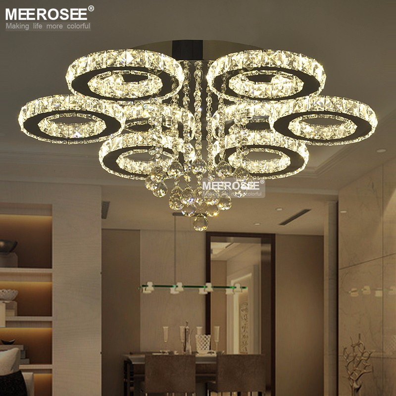New arrival led crystal chandelier light lustres de cristals lamp new arrival led crystal chandelier light lustres de cristals lamp for living room diamond crystal light home decorative lighting in chandeliers from lights aloadofball Gallery