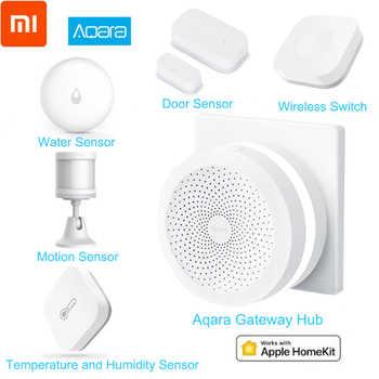 Xiaomi Aqara Smart Home Kits Mijia Hub Door Window Sensor Human Body Wall Switch Humidity Water Sensor Two-way module Aqara Hub - DISCOUNT ITEM  49% OFF All Category