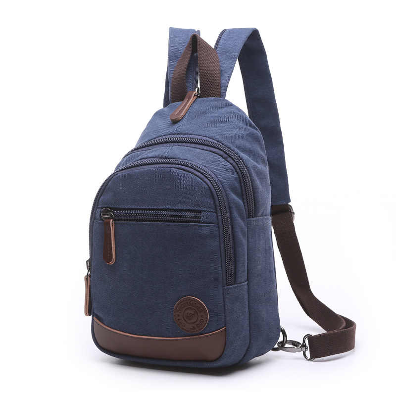 d82526421e30 ... New 2019 Fashion Vintage Men Small Backpack Canvas Water Proof Bags For  Male Backpacks Military Shoulder ...