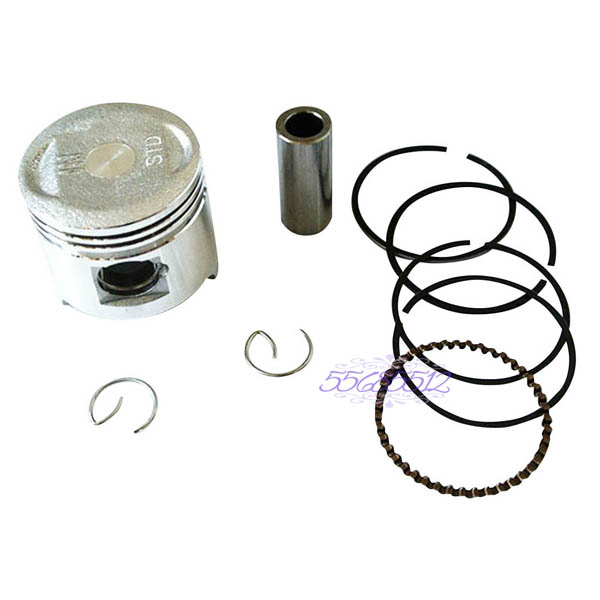 38.5mm 13mm Piston Pin Rings Kit for 50cc 4-Stroke GY6 Engine Scooter Go Kart ATV