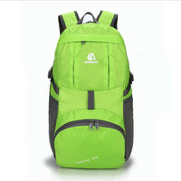 Nylon Foldable Backpack Waterproof Ultralight Backpack Folding Lightweight Outdoor Travel Sport Hiking Bag 30L