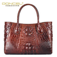 Designal Handbags High Quality Real Cow Genuine Leather Bags For Women Top Handle Vintage Casual Tote