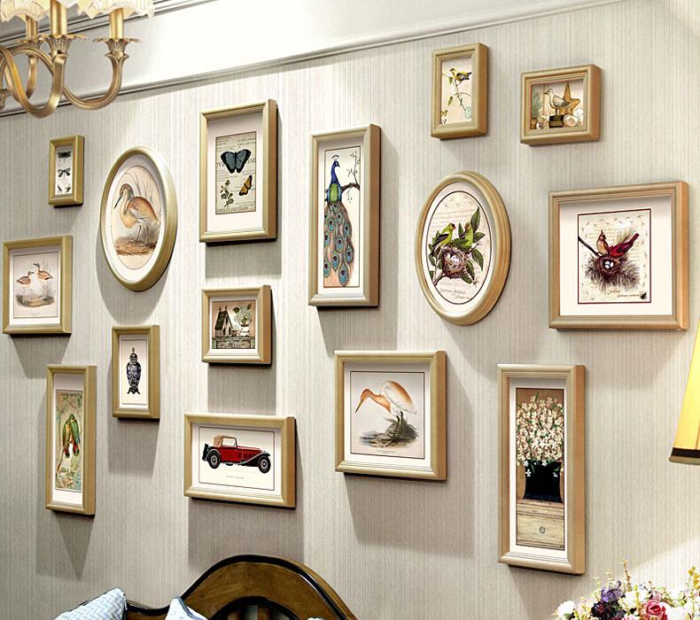 Weiß Bilderrahmen Set 15 Stück 12 Zoll Holz Handgefertigte Bild ...