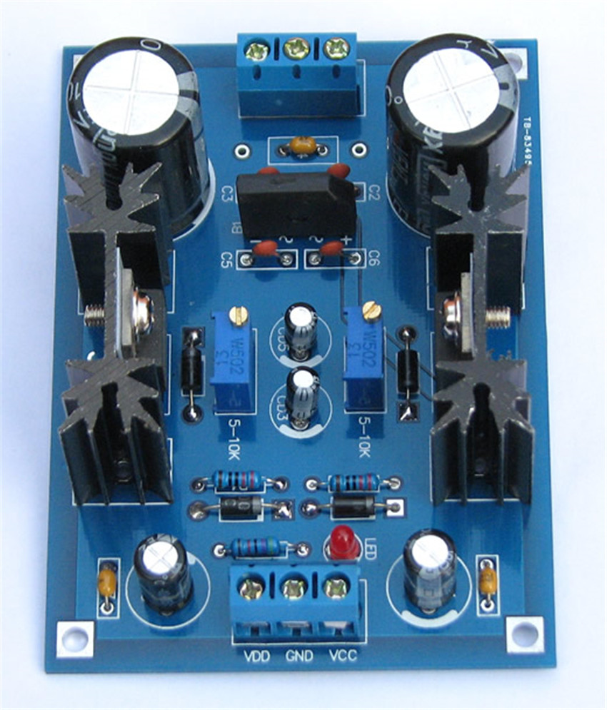 LM337 T Linear adjustable filter for regulated dc power supply board  Electronic LM317 T diy production suite