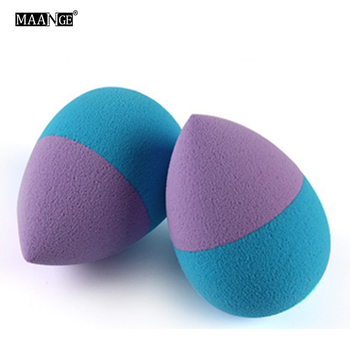 1pc double Colors Sponge Makeup Cosmetic Puff Make Up Blender Flawless for lady Cosmetic Puff 5