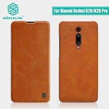 Voor Xiaomi Poco X2 Case Rode Mi K30 Case Nillkin Vintage Flip Cover Wallet Pu Leer Voor Xiaomi Rode Mi k20 Case Mi 9T Mi 9T Pro
