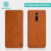 for xiaomi poco x2 Case Redmi K30 case NILLKIN Vintage Flip Cover wallet PU leather For Xiaomi Redmi K20 case Mi 9T Mi 9t Pro Wallet Cases     -