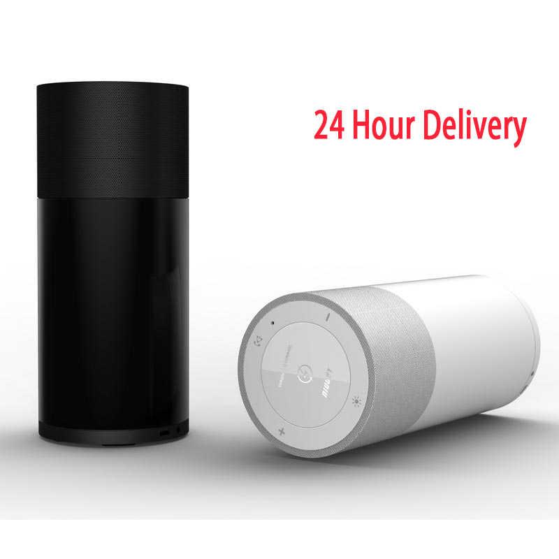 A6 Портативный Водонепроницаемый Bluetooth динамик в виде бруска mp3 музыкальная шкатулка светодиодный Панель 360 стерео Системы Hi-Fi Мобильное Беспроводное зарядное утройство для телефона