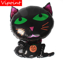 VIPOINT PARTY 49x65cm black cats foil balloons wedding event christmas halloween festival birthday party HY-327