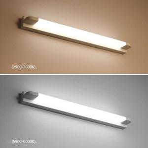Image 2 - New LED Mirror Light 46 66cm 7W/14W AC110 240V Waterproof Modern Cosmetic Acrylic Wall Lamp For Bathroom Light