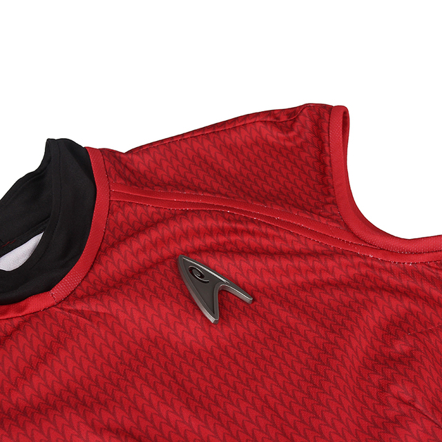 Star Trek Cosplay Costume Nyota Uhura Cosplay Clothing Women Sexy Red Dress Uniform for Halloween Christmas Party Custom Made 4