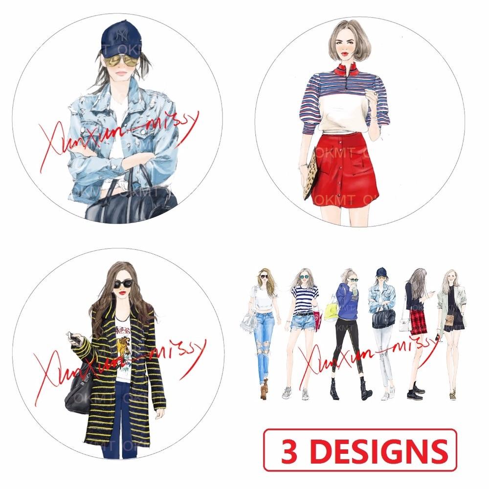 3Designs 40mm*7M High Quality Fashion Beauty Girls Japanese