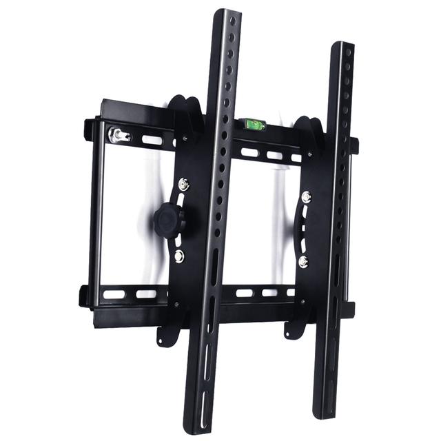 Tv soporte de pared delgada inclinación 23 40 42 46 48 50 55 pulgadas de plasma lcd led 3d lg samsung