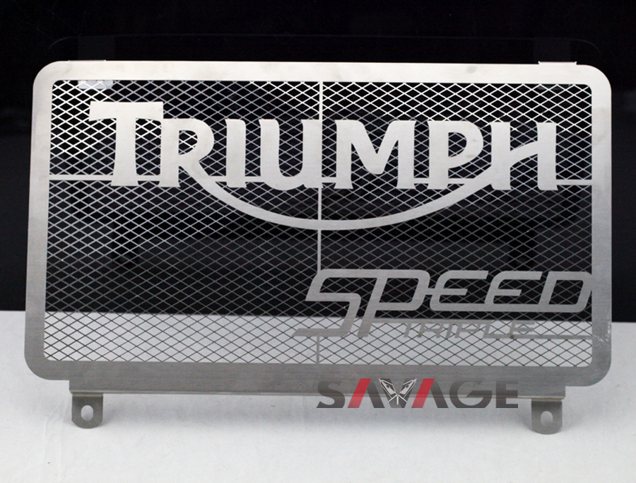 For Triumph Speed Triple 1050 2008-2010 Motorcycle Radiator Grille Guard Cover Protector Fuel Tank Protection Net arashi motorcycle radiator grille protective cover grill guard protector for 2008 2009 2010 2011 honda cbr1000rr cbr 1000 rr