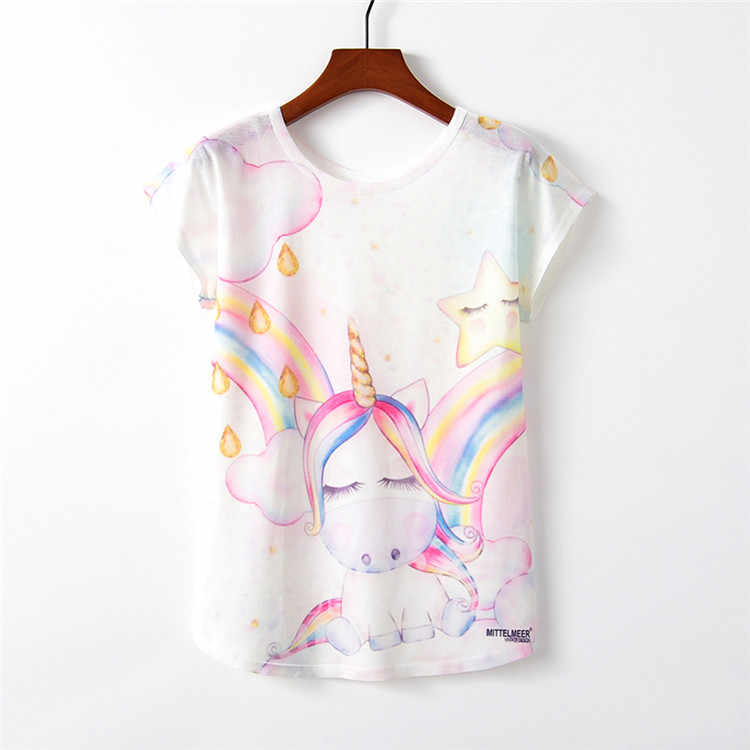 73c1835c0 ... 3D impresión Flamingo 2019 camiseta de verano de manga larga Camisetas