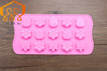 Diy Tulip Flowers Handmade Soap Cake Baking Toast Bread Dessert Crystal  Biscuits Silicone Mold Free Shiping
