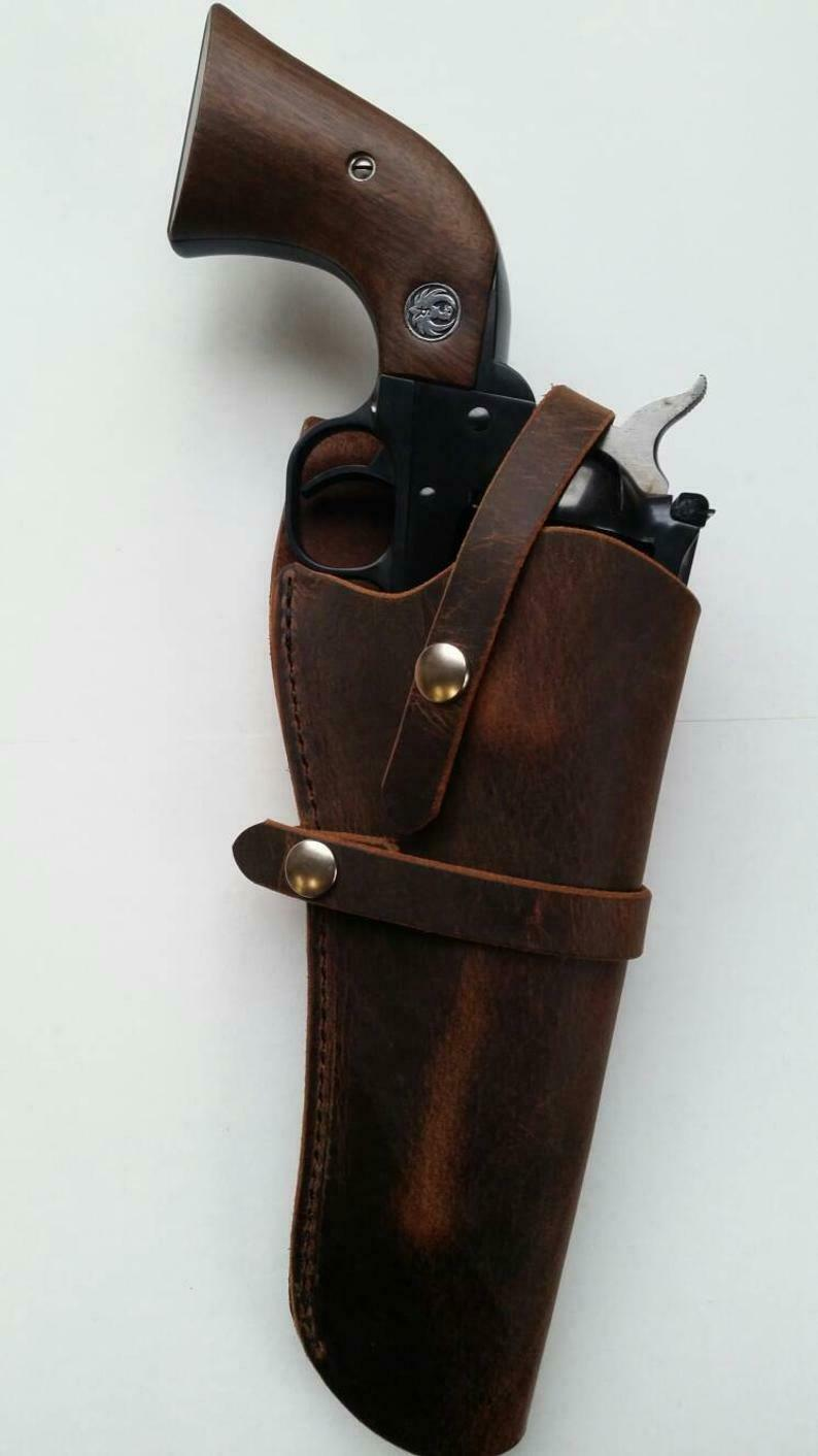 Western Single Action Holster title=