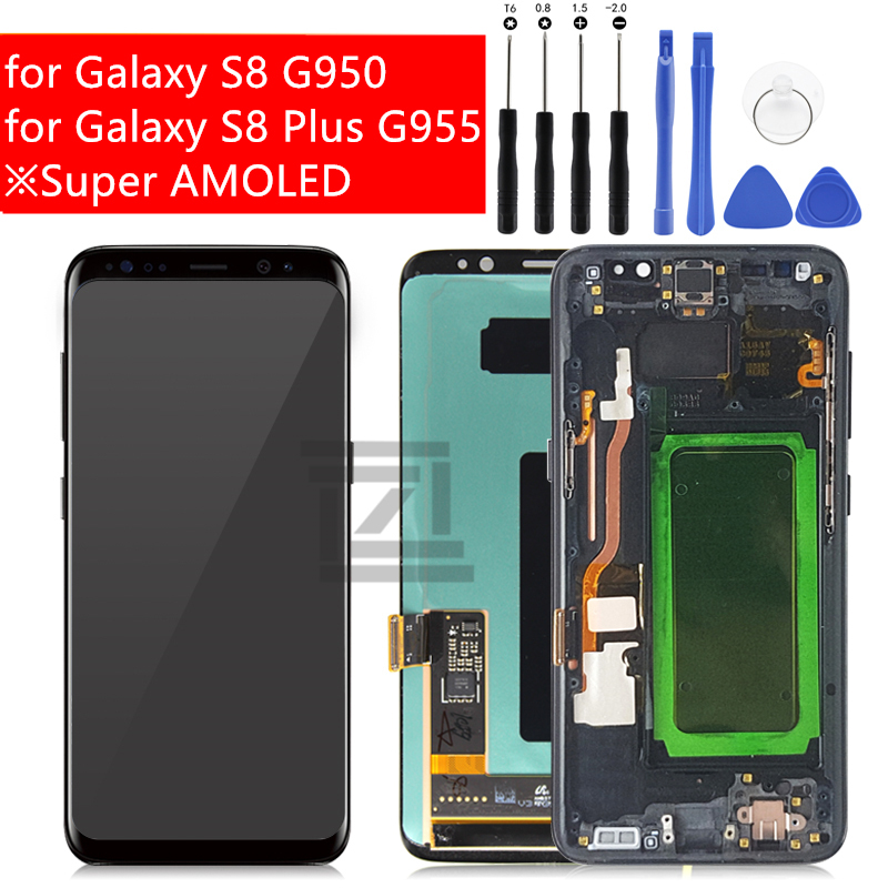 for Samsung Galaxy S8 S8 Plus LCD Display Touch Screen Digitizer Assembly for Galaxy S8 G950