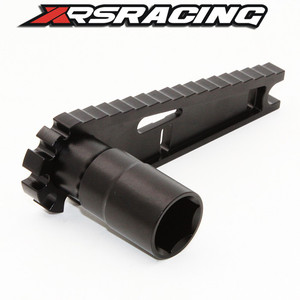 Image 3 - Xrsracing多機能17ミリメートル8ミリメートル六角ナットインストールツール車高調整レンチスクリュー長さ測定のためのrcカー