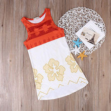 2017 New Summer Baby Dress Toddler Kids Baby Girls Summer Dress Sleeveless Floral Patchwork Princess Party Pageant Dresses