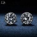Корона Стад Серьги классический ювелирные изделия для женщин Мода белый позолоченный CZ алмаз brincos старинные свадебные серьги dse001